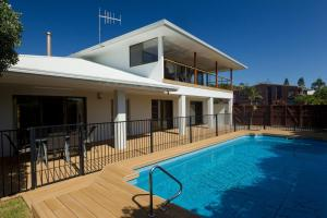 The swimming pool at or near The Beach House at One Mile - 6 Burrawong