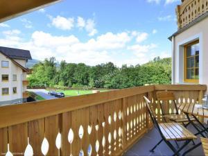 Balkon lub taras w obiekcie Apartament Sunny