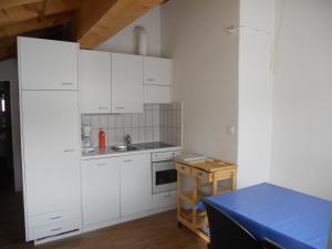 Küche/Küchenzeile in der Unterkunft Fadail seura