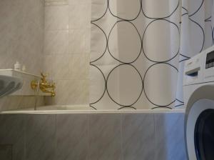 A bathroom at Apartment Kutuzovskya 2/1