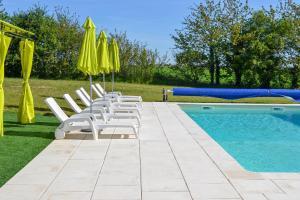 The swimming pool at or near Maison Muguet