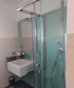 Ein Badezimmer in der Unterkunft Central apartment