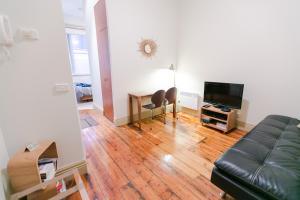 Prostor za sedenje u objektu Flinders Lane Superior Studio Apartment