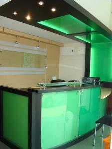 El vestíbulo o zona de recepción de Apartahotel Vincent Suites