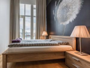 Voodi või voodid majutusasutuse Best Apartments - Jõe Luxury toas