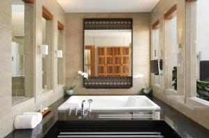 A bathroom at The Samaya Seminyak Bali