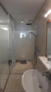 A bathroom at Studio Hofer