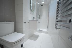 A bathroom at St Anne's Court