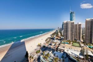 A bird's-eye view of 8 The Esplanade Surfers Paradise
