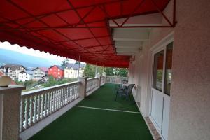 Balcon ou terrasse dans l'établissement Vila Ioana