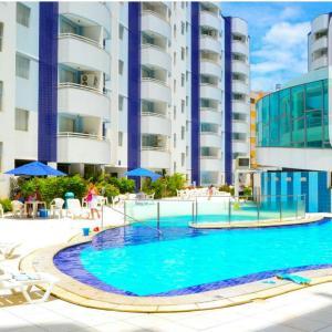 The swimming pool at or near Aguas da Serra Apart Service