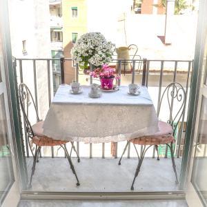 En balkon eller terrasse på casa vacanza il nido