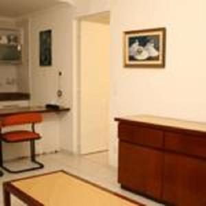A kitchen or kitchenette at Residence Plaza Flat