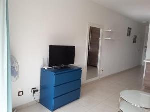 A television and/or entertainment center at H20 MAREVERDE