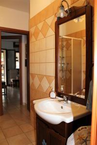 A bathroom at Villetta Rachele