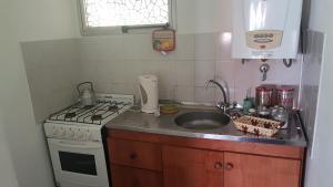 A kitchen or kitchenette at Bahía Nevada
