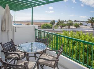 A balcony or terrace at Club del Carmen By Diamond Resorts