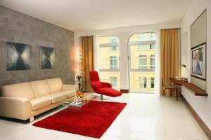 Coin salon dans l'établissement Villa Rotana - Dubai