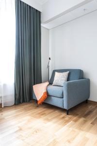 A seating area at Biz Apartment Hammarby Sjöstad