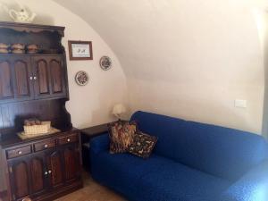 A seating area at Casa a Santo Stefano di Sessanio