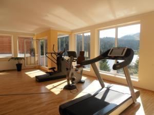 Das Fitnesscenter und/oder die Fitnesseinrichtungen in der Unterkunft Sundance Mountain Resort