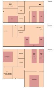 The floor plan of Kotka House
