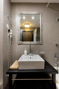 Un baño de Budapest Holidays Apartments & Spa