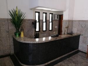 The lobby or reception area at Condominio MarAzul