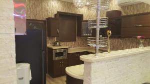مطبخ أو مطبخ صغير في منتجع أغادير