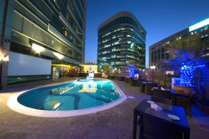 The swimming pool at or near Pearl City Suites Deira City Centre By Gemstones