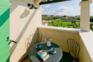 A balcony or terrace at Villa Matija