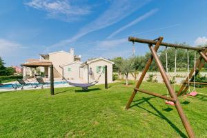 Children's play area at Villa Matija