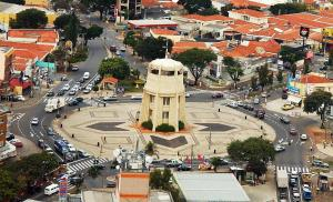 A bird's-eye view of Jóias Preciosas- Kitnet Mobiliado