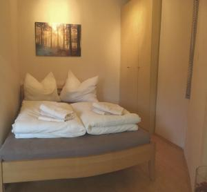 Ein Bett oder Betten in einem Zimmer der Unterkunft Casa Familia Salzburg