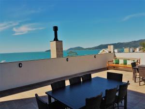 Uma varanda ou terraço em Fragata Apart Hotel