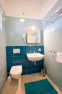 A bathroom at Vila Novak