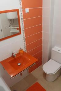 A bathroom at Apartamento Mar