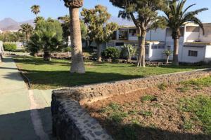 Vrt pred nastanitvijo Remanso de Paz
