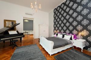 מיטה או מיטות בחדר ב-ArtDesign