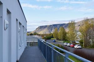 A balcony or terrace at Arctic Nature Hotel