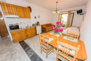 A kitchen or kitchenette at Christinantzela Apartments