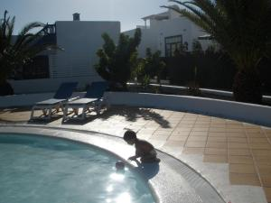 The swimming pool at or near Casa Montero