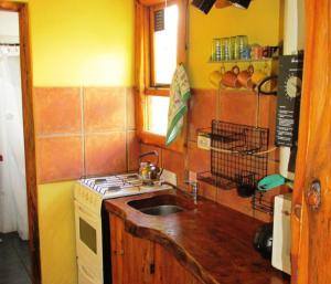 A kitchen or kitchenette at Alto Rolando Apartamentos