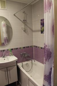 Ванная комната в Apartment on Sovietskaya