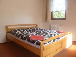 Postel nebo postele na pokoji v ubytování Apartmany Kolb