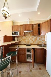 A kitchen or kitchenette at My Stay