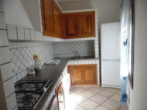 A kitchen or kitchenette at Villa Maestrale