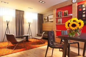 พื้นที่นั่งเล่นของ Hapimag Resort Amsterdam