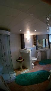 A bathroom at Casa Susanne