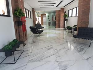 The lobby or reception area at Flat Smart Residence